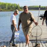 Fishing at Five Lakes Lodge 10