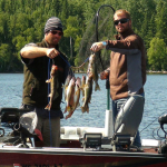 Fishing at Five Lakes Lodge 14