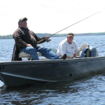 Fishing at Five Lakes Lodge 17