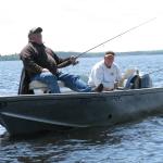 Fishing at Five Lakes Lodge 17