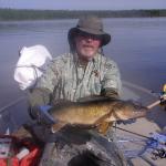 Fishing at Five Lakes Lodge 20