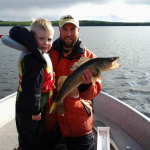 Fishing at Five Lakes Lodge 5